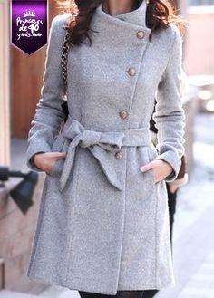 Aún no se va el frío, así que me encantaría tener un abrigo como este. #love #PrincesasDe40