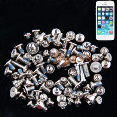 Apple iPhone 5S Full Screw Set http://www.laimarket.com/apple-iphone-5s-full-screw-set-p-3296.html