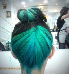 Dyed Hair.