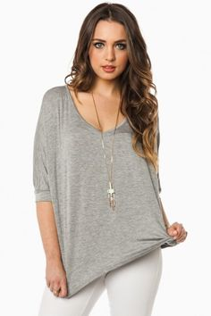 seven casual adult goth heather grey