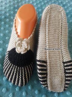– Knitting News Sweater Knitting Patterns, Knitting Socks, Knitting Designs, Free Knitting, Crochet Patterns, Shearling Slippers, Knitted Slippers, Ravelry Crochet, Diy Crochet