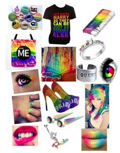 LGBT Gay Pride Outfit vampireluver-monsterenergyluver9 Created by vampireluver-monsterenergyluver9 polyvore set