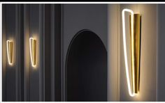 Neon Wall sconces | Very Cool