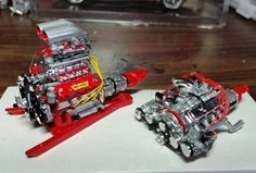 Model car engines - of course!