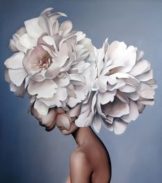 Gemälde Amy Judd - Kunst, Malerei - in . Art Floral, Arte Peculiar, Images D'art, Foto Art, Painting Inspiration, Art Pictures, Collage Art, Flower Art, Art Drawings