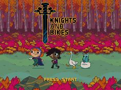 Knights And Bikes Demakeby Monsoon2D