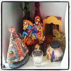 Muito bem protegidos  #proteçao #altar #orixás #umbanda by carolamacielrosa