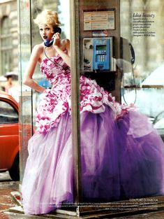"""Influence and Stardoll: Alexandra Tretter in """"Funny Couture"""" for Elle Italia November 2010 by Alexei Hay❤️"""