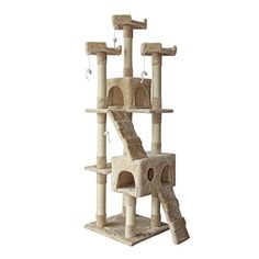 Ecolinear 67 Cat Tree Condo Furniture Scratching Post Pet Kitten House * Check out this great product.