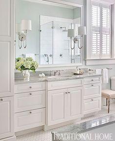 White Bathroom BATHROOM INSPIRATION Pinterest White - All white bathrooms pictures