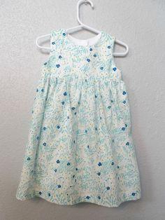 Wee Wander Geranium Dress by JoyInTheStitches on Etsy