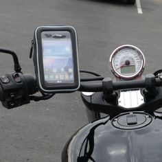 eCaddy® URBAN Hydra Waterproof Motorcycle GPS & Phone Mount for Round…