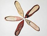 Date: Culture: probably British Medium: leather Dimensions: 2 x 9 in. x cm) Credit Line: Brooklyn Museum Costume Collection at The Metropolitan Museum of Art, Gift of the Brooklyn Museum, Gift of Herman Delman, 1954 Accession Number: Vintage Shoes, Vintage Outfits, Vintage Fashion, Vintage Clothing, Louis Seize, Regency Dress, Regency Era, Kids Slippers, Costume Collection