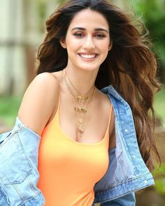 flaunts her sweet smile in her deadly denim look 🧡 Indian Bollywood Actress, Bollywood Actress Hot Photos, Indian Actress Hot Pics, Bollywood Girls, Beautiful Bollywood Actress, Most Beautiful Indian Actress, Bollywood Celebrities, Actress Photos, Beautiful Actresses