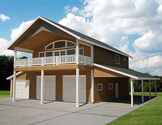 Garage House Plans With Apartment Above: Garage Apartment Custom Home Design Great House Design,