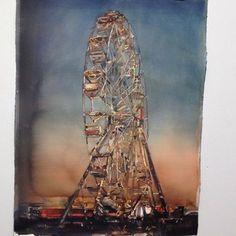 Ett urval av Lars Lerins akvareller.