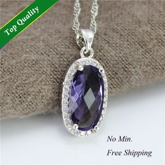 Find More Pendants Information about Fashion Necklaces for Women 2014,Oval Purple/Red Crystal with Rhinestone Pendant Necklace,Engagement Metal Charms Pingente N479,High Quality necklace pedant,China necklace logo Suppliers, Cheap necklace vial from ULOVE Fashion Jewelry Official Store on Aliexpress.com