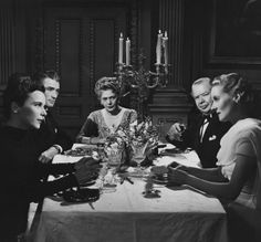 Alida Valli, Gregory Peck, Ethel Barrymore, Charles Laughton, Ann Todd - The Paradine Case (Alfred Hitchcock,1947)