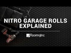 Diamond pattern nitro rolls offer the best value roll out vinyl garage floor covering on the market. Rolls can be used as a wall to wall garage flooring or as a mat or pad to cover one area of a garage. Similar to Coleman flooring. Vinyl Garage Flooring, Raised Bed Garden Design, Boat Restoration, Garage Storage Solutions, Garden Gazebo, Outdoor Sheds, Educational Programs, Shed Plans, Book Nooks