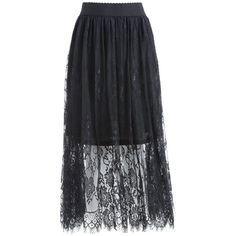 Black 5xl Plus Size Long High Waist Lace Skirt ($14) ❤ liked on Polyvore featuring skirts, plus size high waisted skirt, plus size maxi skirt, long skirts, high waist skirt and women's plus size maxi skirts