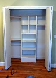 Closet Organizer - this one may work guest/other rooms