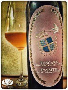 2014 Donatella Cinelli Colombini Passito Toscana Sweet wine front label social vignerons