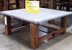 Square Coffee Table. #SoutheasternSalvage #HomeEmporium #homedecor