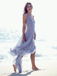 Run A Way Maxi Dress l Beachwear l www.CarolinaDesigns.com