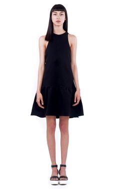 Ioana Ciolacu Official Site featuring ready to wear collections for women. Ready To Wear, Crew Neck, Dresses For Work, Outfit, Skirts, Sleeves, How To Wear, Shopping, Black