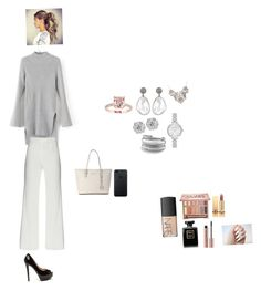 """""""Working outfit"""" by amandabaltaian on Polyvore featuring Michael Kors, Kate Spade, David Yurman, Urban Decay, Yves Saint Laurent and NARS Cosmetics"""
