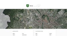 Screenshot der Landeshauptstadt Graz, Steiermark, auf Similio, dem mehrsprachigen Geographie- & Informationsportal über Österreich. Geographie, Wirtschaftskunde, Statistik Statistics, Communities Unit, Graz, Economics, Alps, Things To Do