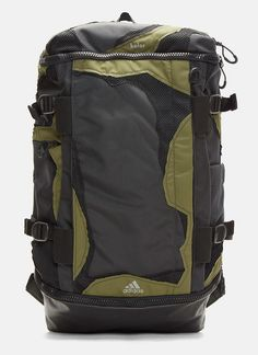Adidas By Kolor X Kolor OPS Backpack in Khaki  fab45f56bf2c6
