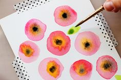 #watercolor #flowers #Scrapbooking Kits, Paper & Supplies, Ideas & More at