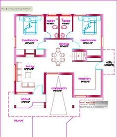 Used rvs bathroom floor plans and 5th wheels on pinterest for Veedu plan and estimate