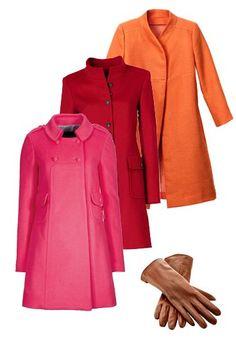 A-Linien-Mäntel - 60er Jahre Mode - bildderfrau