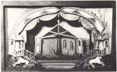 184. «Двенадцатая ночь» А.Г. Тышлер. Макет. 1951