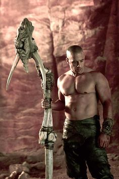 RIDDICK is so hot!.....umm hello haven't I been saying this since like forever!