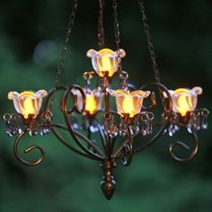 Kami Series Chandelier - Black only $99.00 at Garden Fun - What's New!