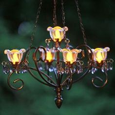 $19 99 white mini led battery operated gazebo chandelier