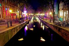 I've been to Amsterdam twice...it's not just a city I'd like to visit...It's a city I dream of living in...