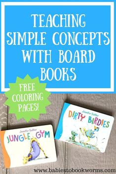 Babies to Bookworms offers a review of Jennifer Sattler's new educational board books, as well as an interview with the author, some fun activities & a giveaway! #ad
