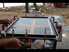 DIY mesh stretcher