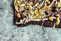Marble Bark with Pistachios and Fleur de Sel: Sweet & Salty ~ from Kim Beaulieu via Food Fanatic