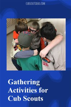 Cub Scout gathering activities are a great way to start your den or pack meetings. You'll find ideas ranging from word search puzzles to scavenger hunts to group games that are perfect for the kids in your group. #CubScouts #CubScout #Scouting #Webelos #ArrowOfLight #GatheringActivities Scout Leader, Team Leader, A Team, Cub Scout Activities, Activities For Boys, Group Games, Fun Games, Arrow Of Lights, Pack Meeting