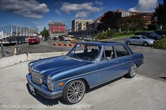 Great looking W114 / W115 Mercedes