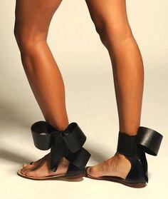 Aminah Abdul Jillil bow sandal Summer 2014