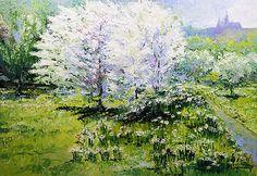 Yuriy Shevchuk Prague Spring in the Petrin gardens