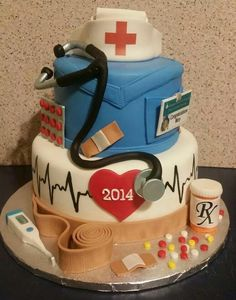 Nurse cake by Tracy Mason from fb