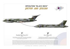 "ROYAL AIR FORCEOperation ""Black Buck""Falklands/Malvinas war. 1982"