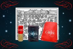 Color the World of Caraval pre-order prize pack!